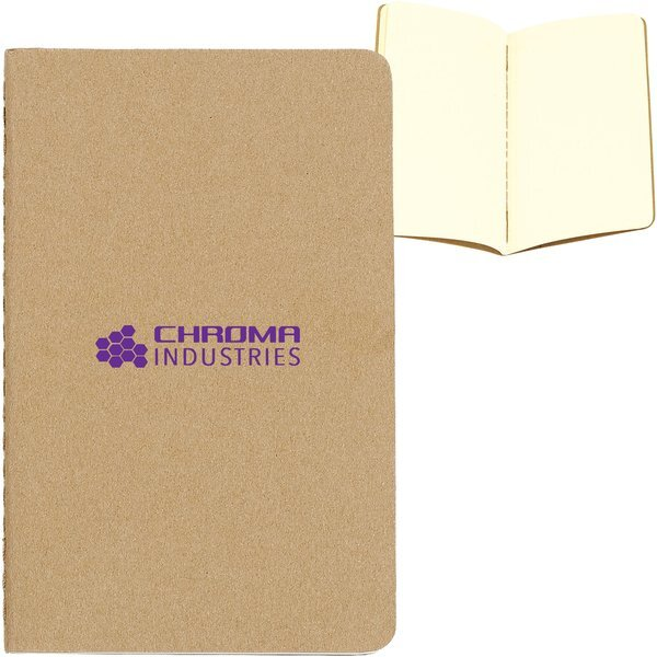 "Moleskine® Cahier Plain Pocket Notebook, 3-1/2"" x 5-1/2"""