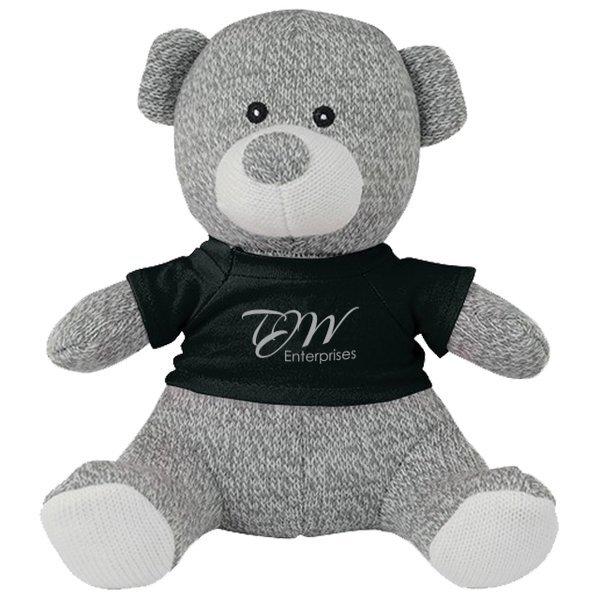Knitted Plush Teddy Bear