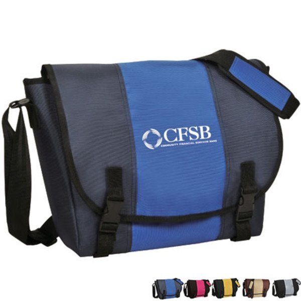 Nylon Classic Messenger Computer Bag