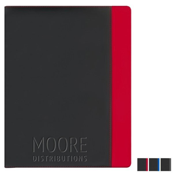 Color Accent Soft Touch Padfolio