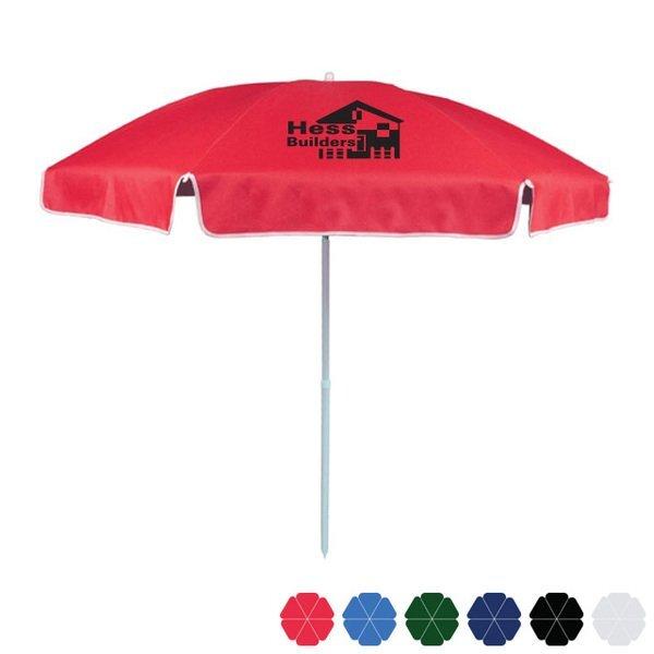 """Reinforced Beach Umbrella, 72"""""""