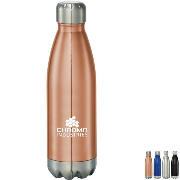 Arsenal Stainless Steel Vacuum Bottle, 17oz.