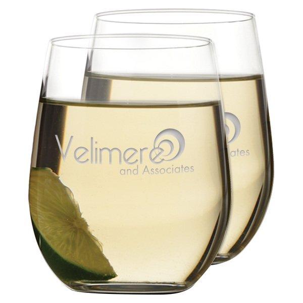 Riedel® Chardonnay Stemless Wine Glass Set