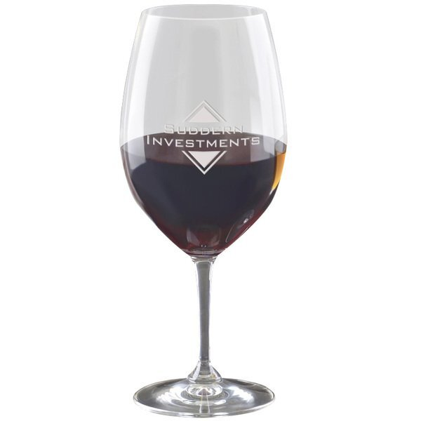 Riedel® XL Cabernet Wine Glass, Deep Etched, 33-1/2oz.