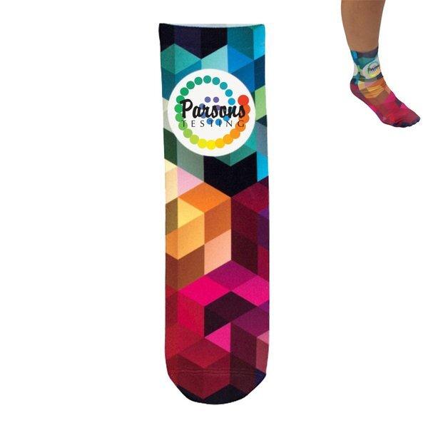 Full Color Unisex Crew Socks