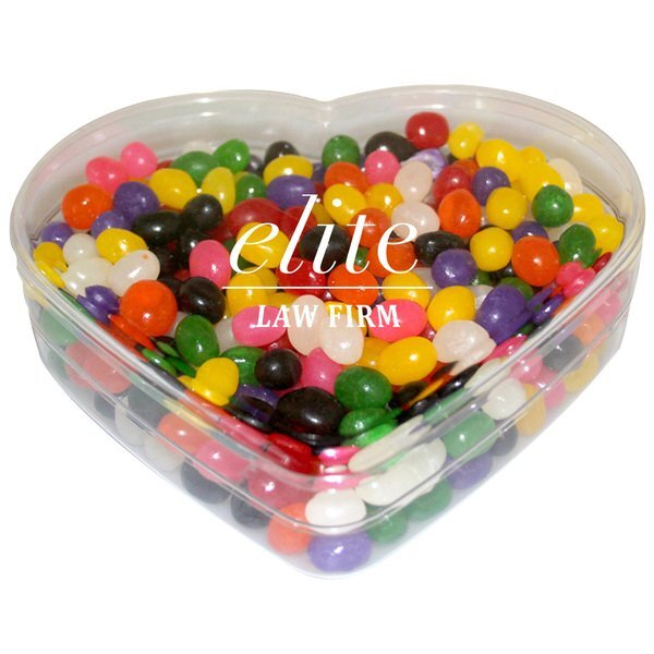 Heart Candy Container - Jelly Beans