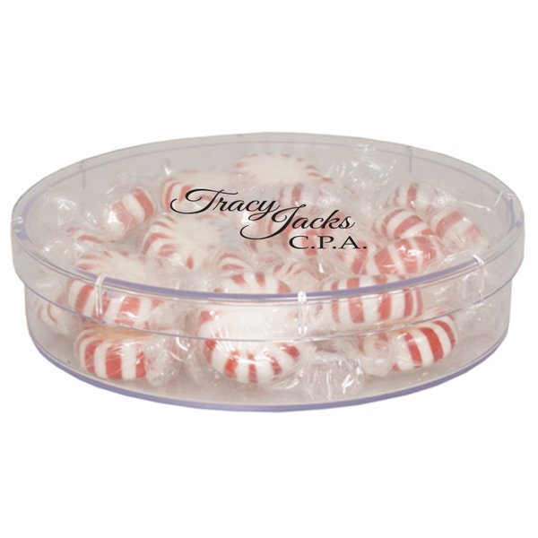 Starlite Mints in Large Round Candy Container