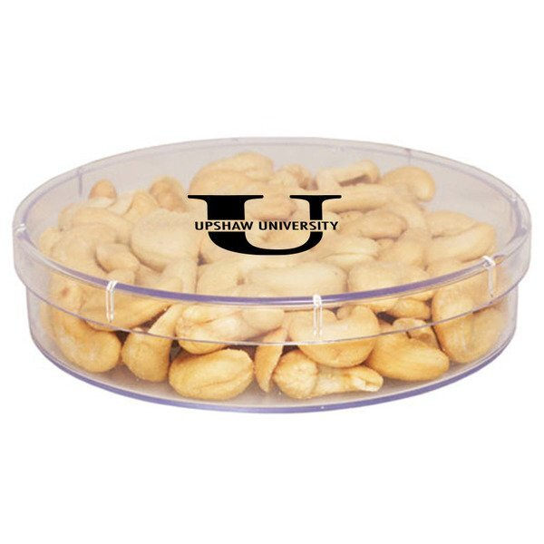 Large Round Candy Container - Cashews