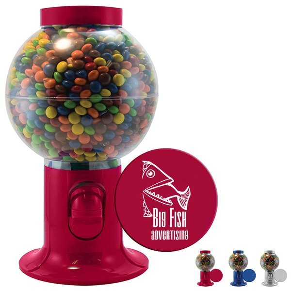 Gumball Machine w/ Colorful Chocolate Littles