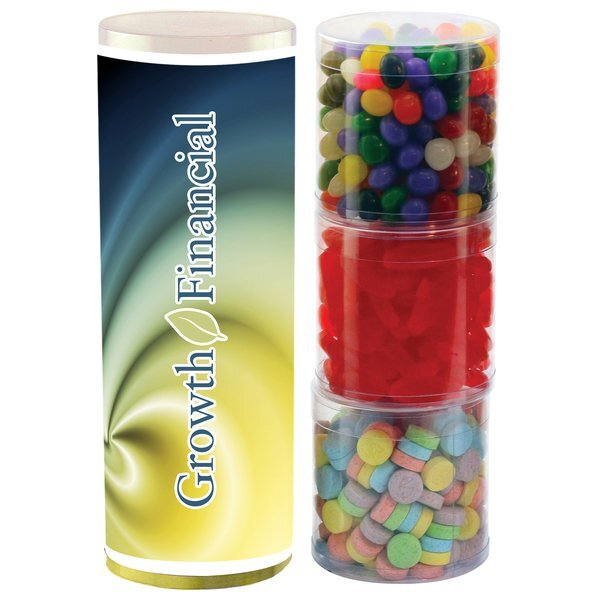 Three Tube Candy Stack