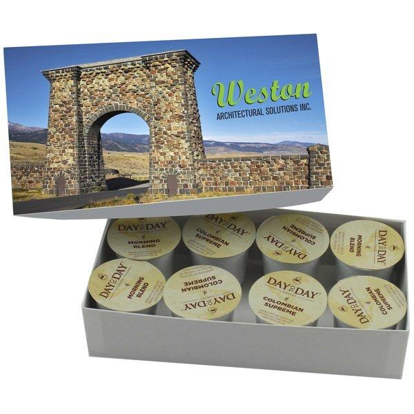 Custom Coffee Cups Box, 8-Pack