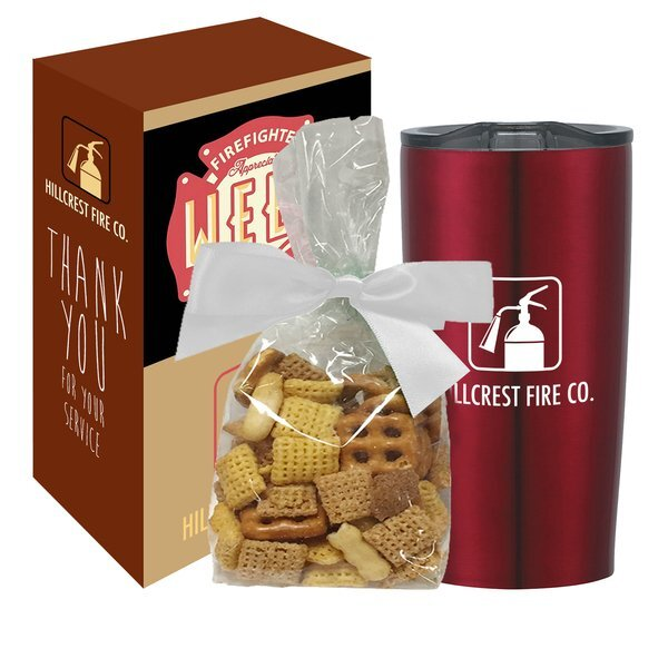 Himalayan Tumbler w/ Chex Mix Gift Set in a Custom Box