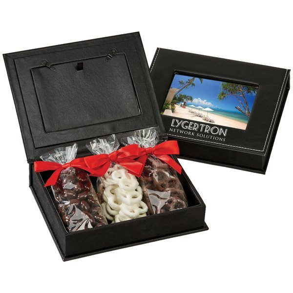 Picture Frame Keepsake Box w/ Chocolate Treats