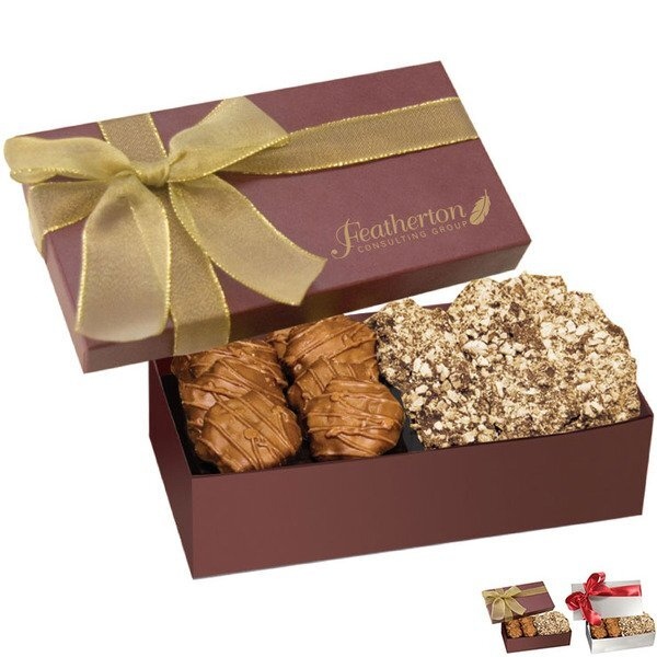 Executive Gift Box w/ Almond Butter Crunch & Turtles