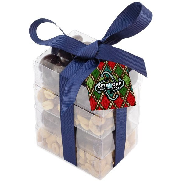 Super Stacker Present, Nuts & Chocolate