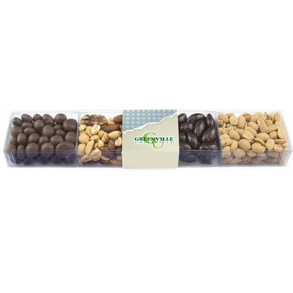 Sweet Box Medley, Clearly Delicious Nuts & Chocolates