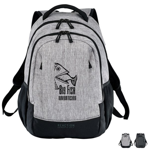 Kenneth Cole® PolyCanvas Pack Book Computer Backpack