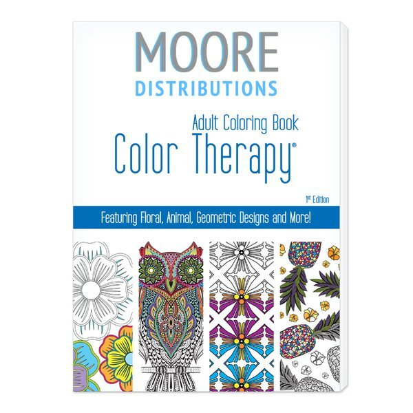 Color Therapy® 24 Page Adult Coloring Book