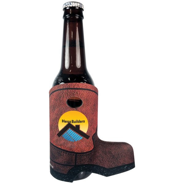 Boot Bottle Coolie, Full Color