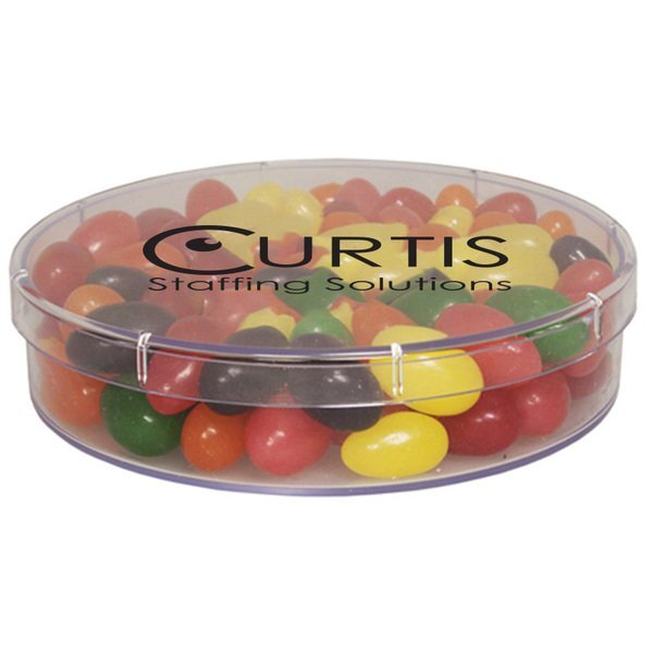 Large Round Candy Container - Jelly Beans