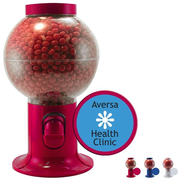 Red Hots in Gumball Machine