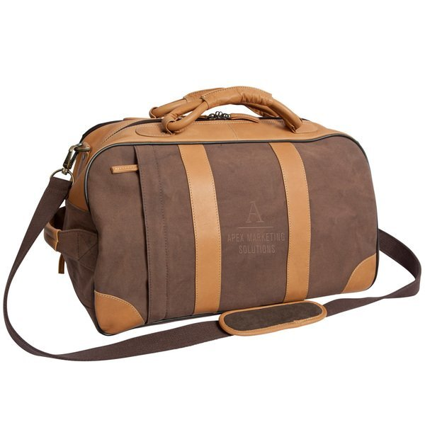 Stilson Canyon Leather Rolling Duffel, 20""