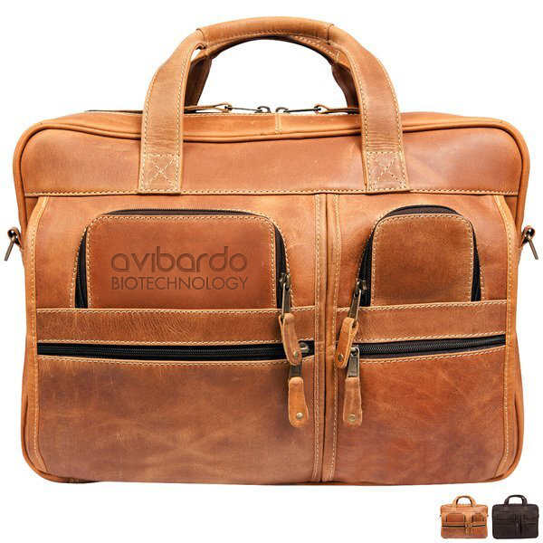 Casa Grande Canyon Leather Briefcase