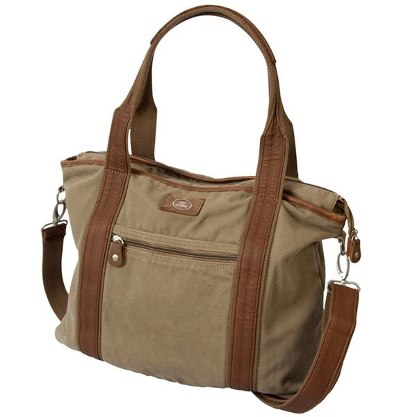 Tucker Canvas & Leather Tote