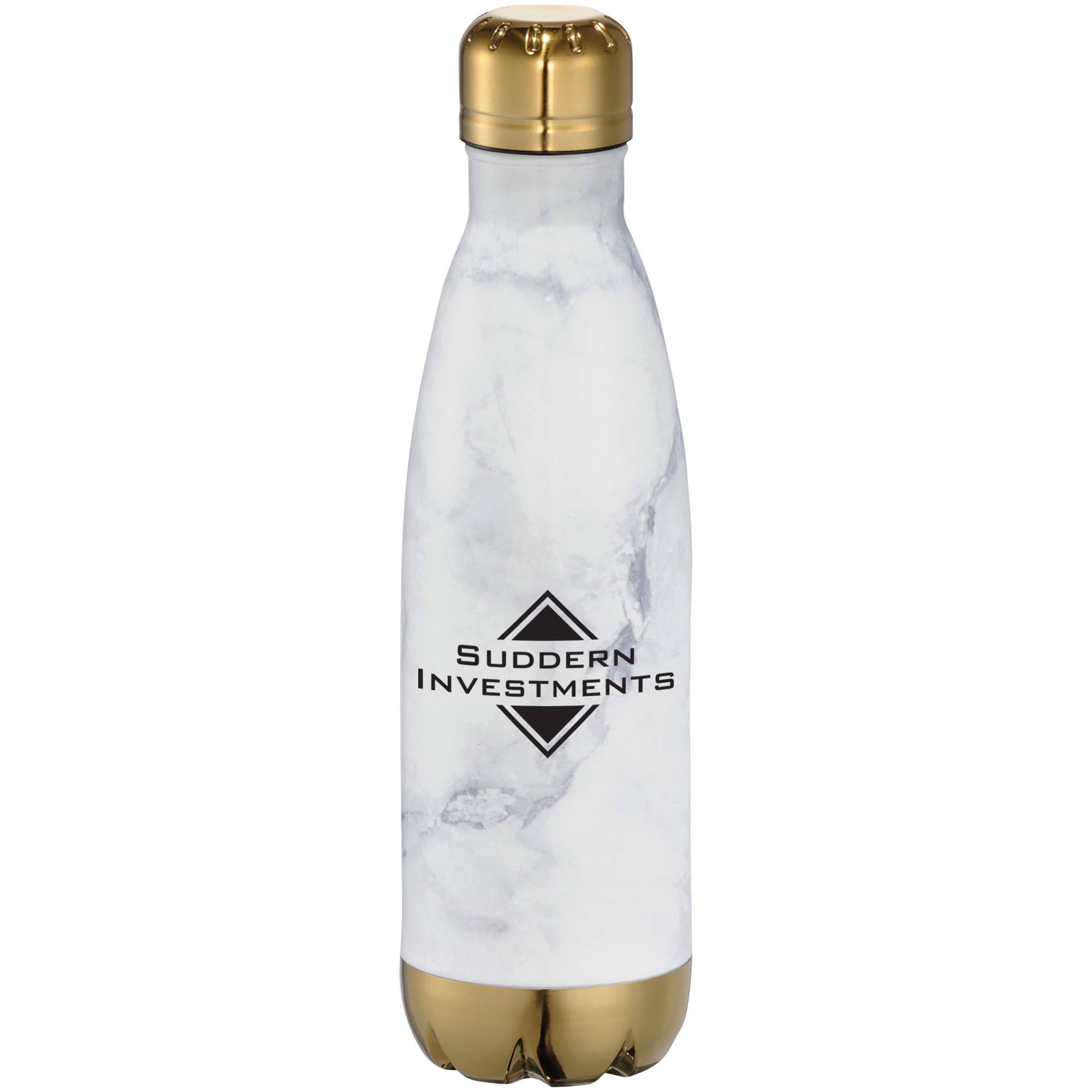 Marble Copper Vacuum Insulated Bottle, 17oz.