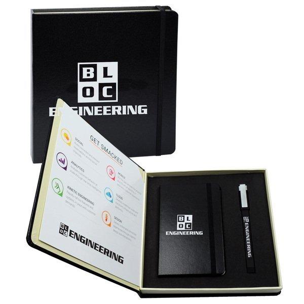 "Essential Writing Box Gift Set, 7-1/2"" x 7-1/2"""