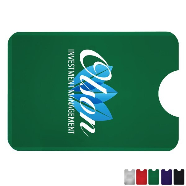 RFID Protective Card Holder, Full Color