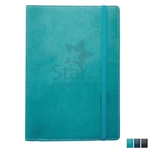 "Revello Soft Cover UltraHyde Refillable JournalBook™, 5-1/4"" x 7-1/2"""