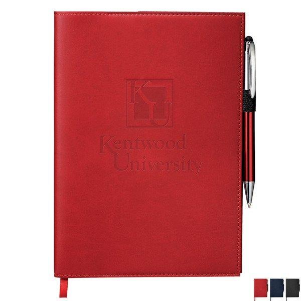 Pedova™ Refillable UltraHyde JournalBook™ & Stylus Pen Bundle Set