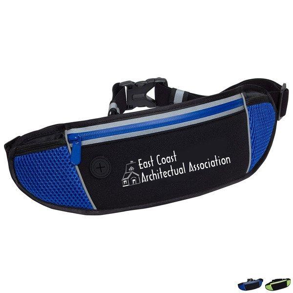 Sleek Water Resistant Sports Waist Pack