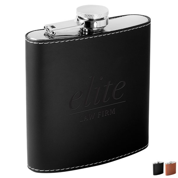 Tuscany™ Stainless Steel Beverage Flask, 6oz.