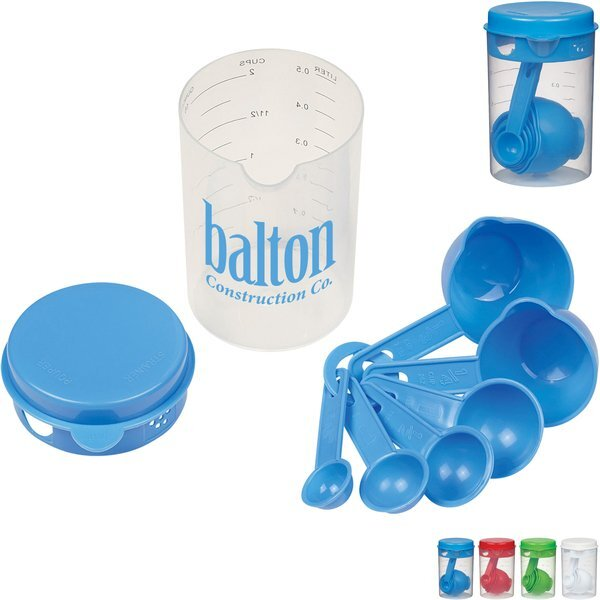 Kitchen Measuring 7-Piece Set for Liquids or Solids