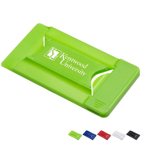 Smart Mobile Wallet w/ Phone Stand and Screen Cleaner