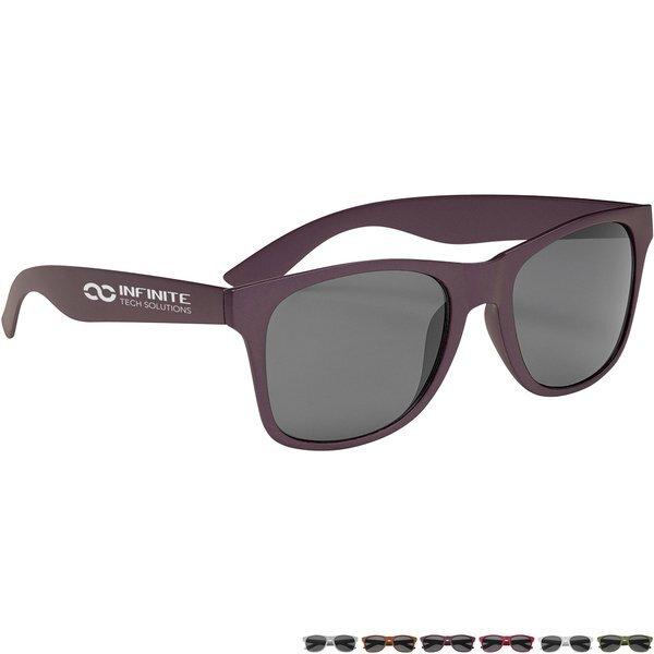 Matte Metallic Malibu Sunglasses