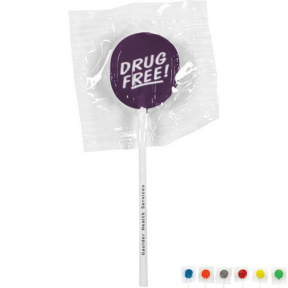 Drug Free Design, Custom Lollipops