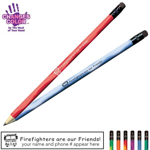 Firefighters are our Friends Mood Color Changing Pencil