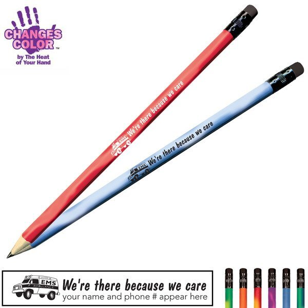 We're There Because We Care Mood Pencil