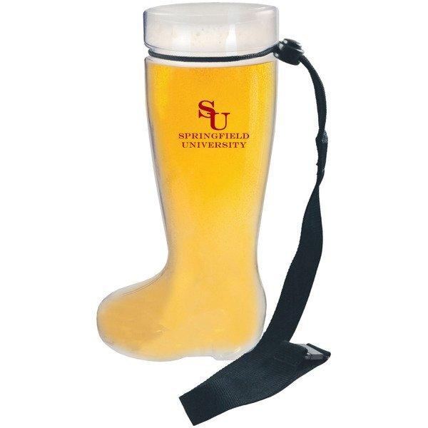 Plastic Beer Boot Mug, 1 Liter