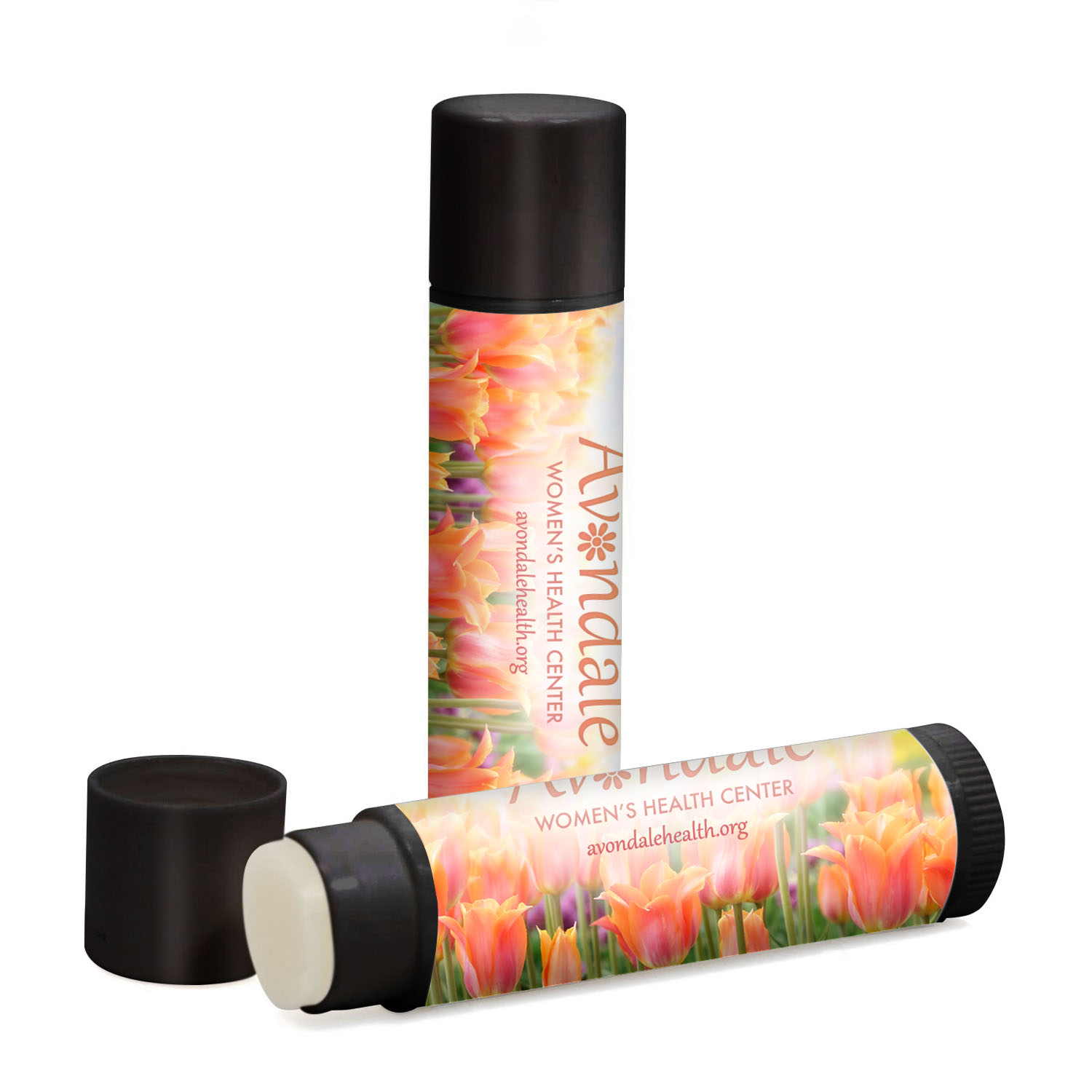 Fabulous Flavors Lip Balm in Black Tube, SPF 15