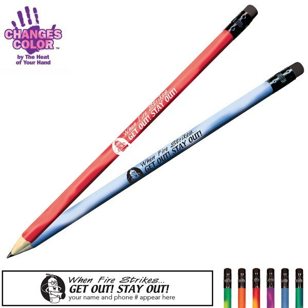 When Fire Strikes Get Out Stay Out Mood Color Changing Pencil