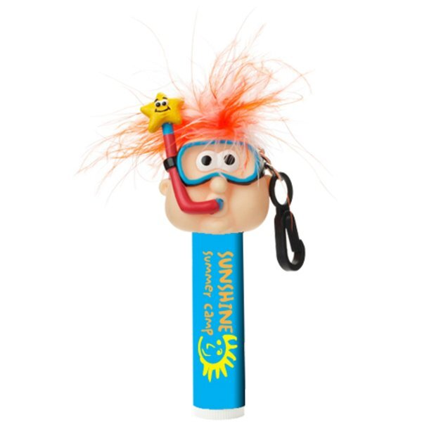 Goofy Snorkel Guy All Natural Lip Balm w/ Clip