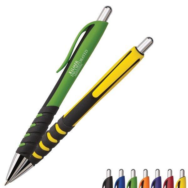 Jude Rubber Grip Ballpoint Pen