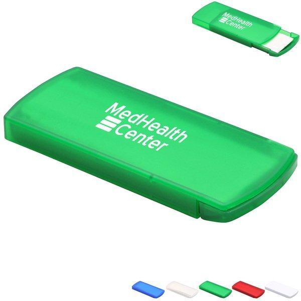 Slide-Right Bandage Dispenser with Standard Bandages