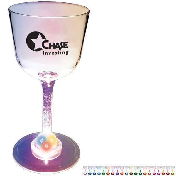 Light Up LED Wine Glass, 7oz.
