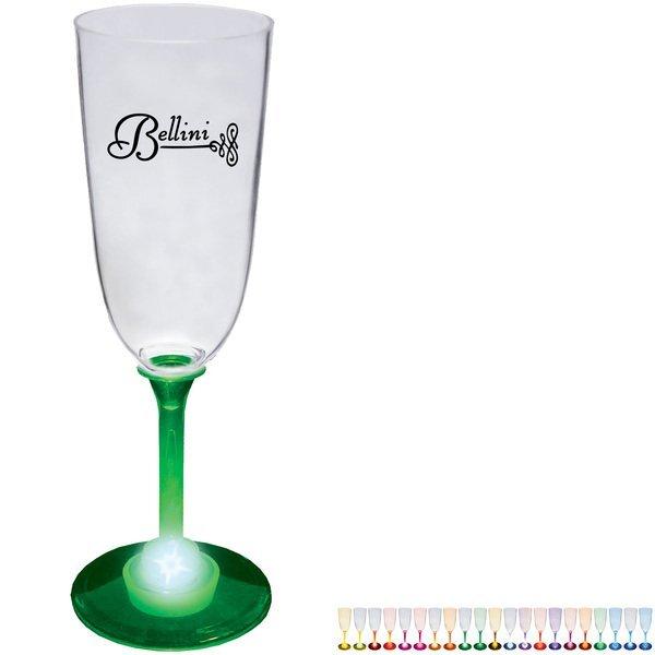 Light Up LED Champagne Glass, 7oz.