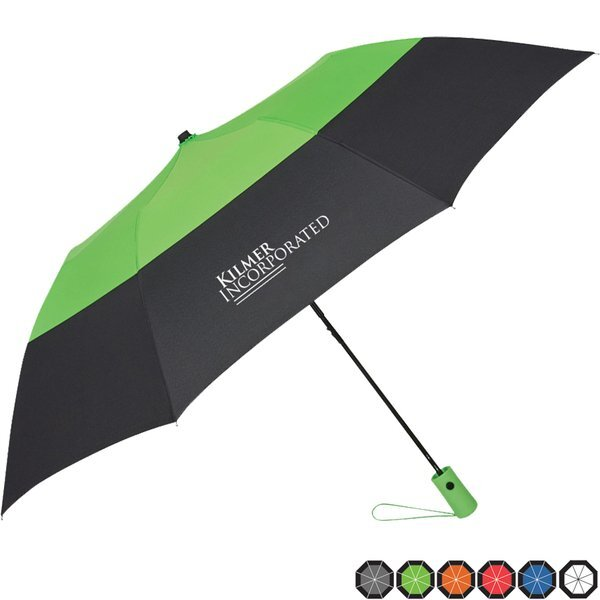 "Color Top Folding Umbrella, 46"" Arc"